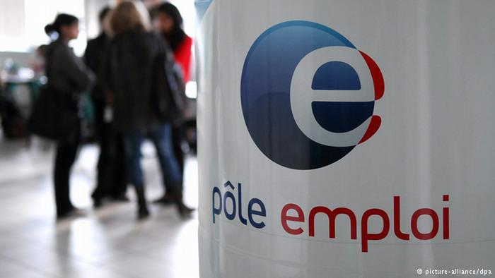 Arbeitslosigkeit Frankreich - Arbeitsamt (picture-alliance/dpa)