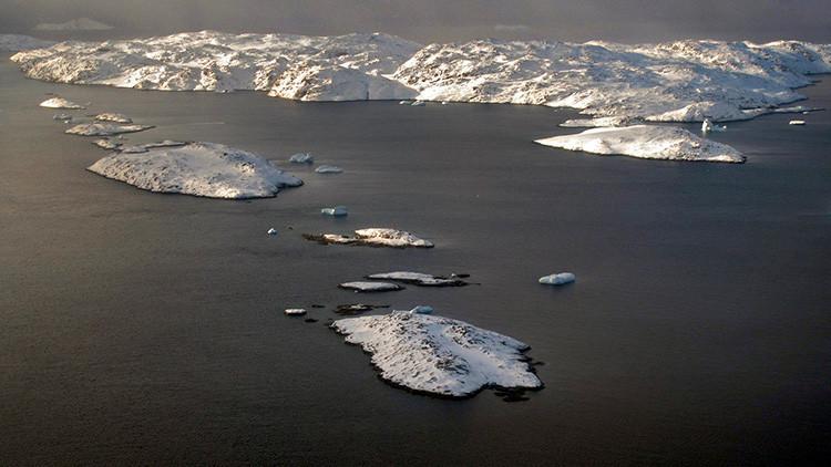 La temperatura del Ártico se eleva 30º sobre la norma