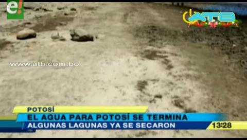 Lagunas del Kari Kari se secaron en Potosí