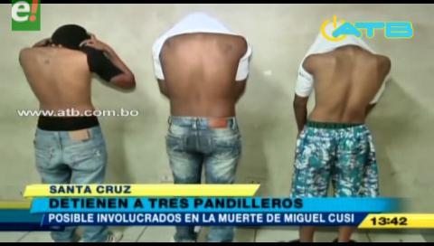 Detienen a posibles autores de la muerte de José Miguel Cusi