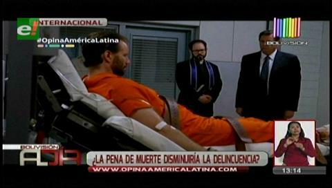 Opina América Latina: ¿Está de acuerdo con la pena de muerte?