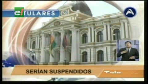 Titulares de TV: Cámara de Diputados inició la acusación contra los cuatro consejeros de la Magistratura