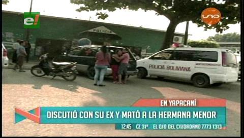 Hombre mata a una adolescente al intentar victimar a su expareja