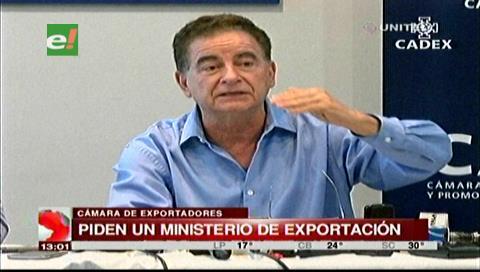 Cadex pide al Gobierno la creación de un Ministerio de Exportación