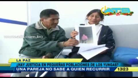Denuncian asesinatos impunes en Irupana