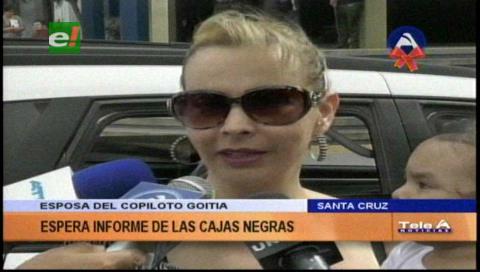 Caso LaMia: La esposa del copiloto pedirá el informe de las cajas negras