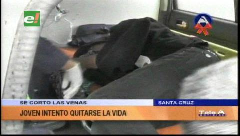 Santa Cruz: Joven intentó quitarse la vida en la Manzana 1