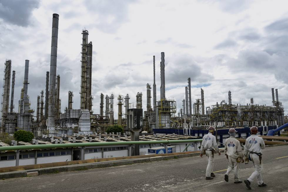 Una planta petroquímica en el nordeste de Brasil.