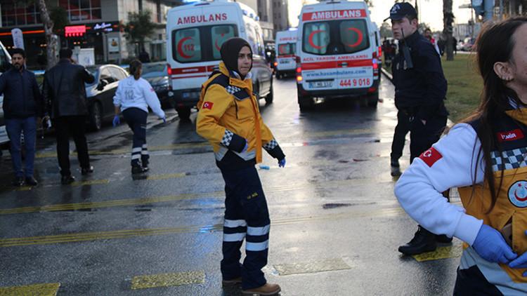 Videos: Momento exacto de la explosión cerca de un juzgado en Turquía