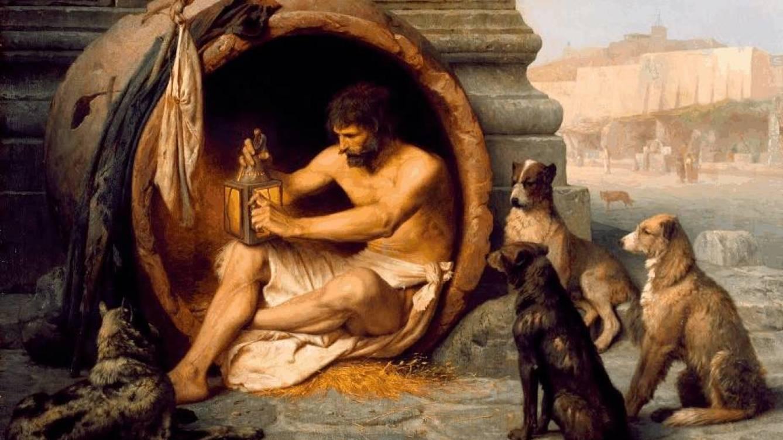 Foto: No te metas con Diógenes.