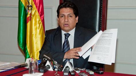 Ruddy Flores, magistrado del Tribunal Constitucional Plurinacional