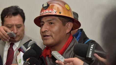 El secretario Ejecutivo de la Central Obrera Boliviana (COB), Guido Mitma. Foto: archivo La Razón