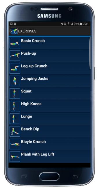 Base de datos de 10 Daily Exercices
