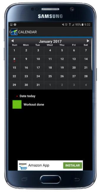 Calendario en 10 Daily Exercices