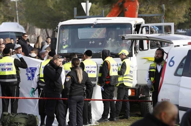 Álbum de las imágenes del ataque en Jerusalén