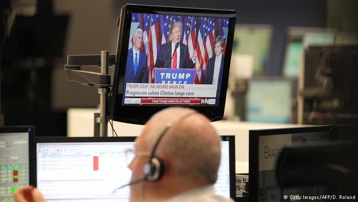 Frankfurt Börse US Wahlen 2016 (Getty Images/AFP/D. Roland)