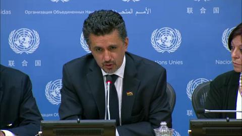 Resultado de imagen para Sacha Llorenti en la ONU