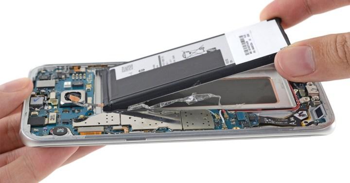 Reparación del Samsung Galaxy S7