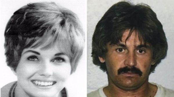 Karen Klaas y su asesino Kenneth Troyer, muerto durante un tiroteo en 1982