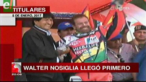 Video titulares de noticias de TV – Bolivia, noche del jueves 5 de enero de 2017