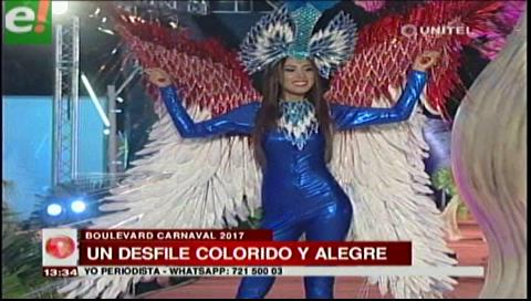 Belleza y colorido en el Boulevard Carnaval 2017