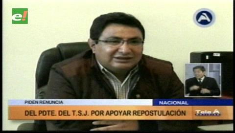 Diputado Barral pide la renuncia del presidente del TSJ