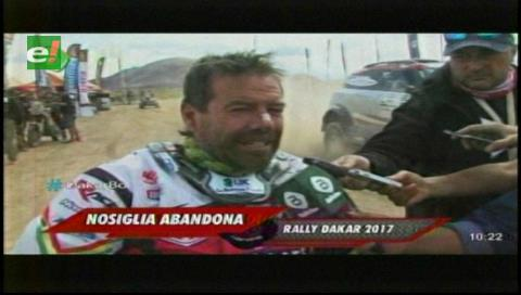 Walter Nosiglia abandona el Dakar 2017