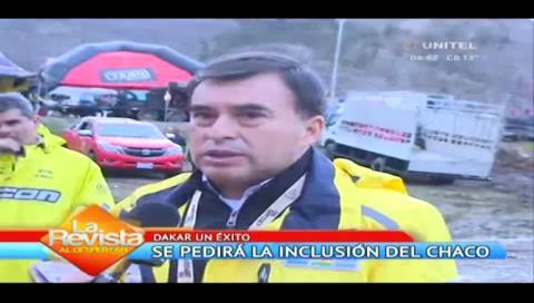 Quintana pedirá que el Chaco boliviano sea incluido en el Dakar 2018
