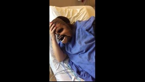 El video viral de una mujer Chewbacca que fue filmada mientras daba a luz
