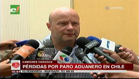 Nuevo paro en la Aduana chilena ocasiona pérdidas a los exportadores