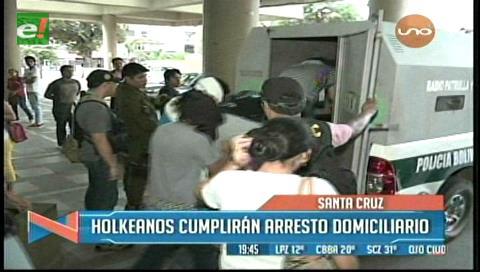 """11 menores de """"Legión Holk"""" fueron liberados"""