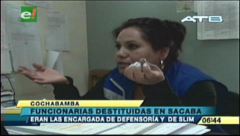 Destituyen a jefa y abogada de la Defensoría de Sacaba por caso de niña violada