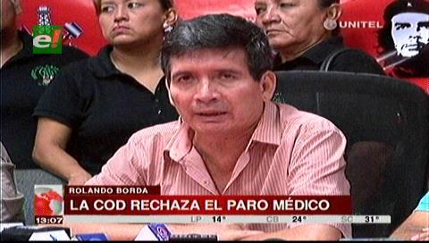 COD cruceña pide tomar el Tribunal Constitucional y destituir a médicos huelguistas