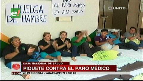 Trabajadores abren huelga de hambre contra el paro en la CNS