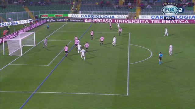 Inter se llevó tres puntos bajo la lluvia en Palermo