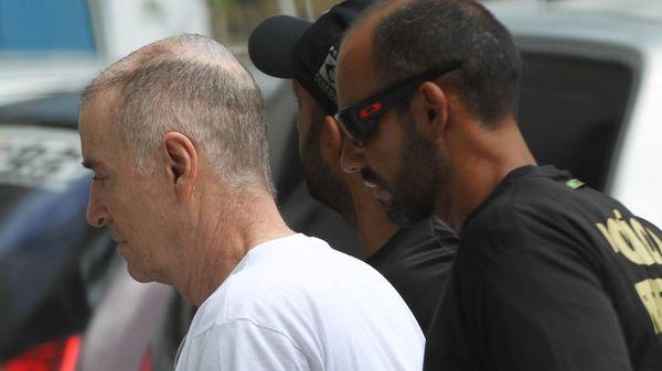 Eike Batista, el magnate que fue el hombre más rico de Brasil, concluyó este martes su primera declaración ante la policía (EFE)