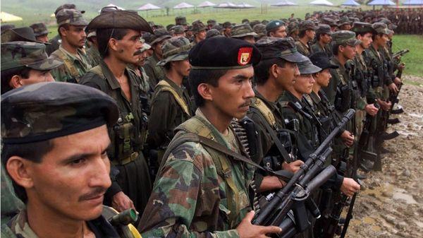 Combatientes de las FARC (AP)