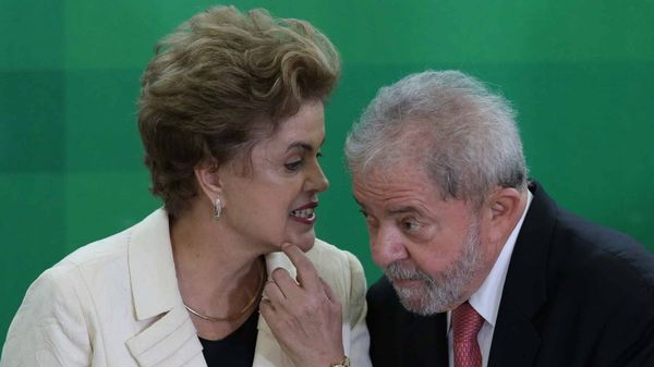 Santana dirigió las campañas de Dilma Rousseff y Lula da Silva en Brasil (AP)