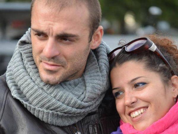 Una foto de Di Lello y Roberta Smargiassi (Facebook)