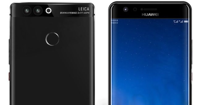 huawei p10 parte frontal