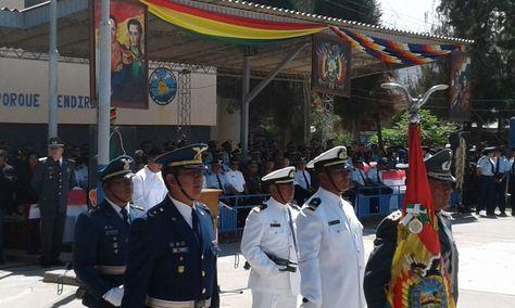 Grandes y pequeñas unidades militares de Fuerzas Armadas licenciaron simultáneamente a 20.000 jóvenes del Primer Escalón 2016 que cumplieron con el Servicio a la Patria. Foto: Fernando Cartagena