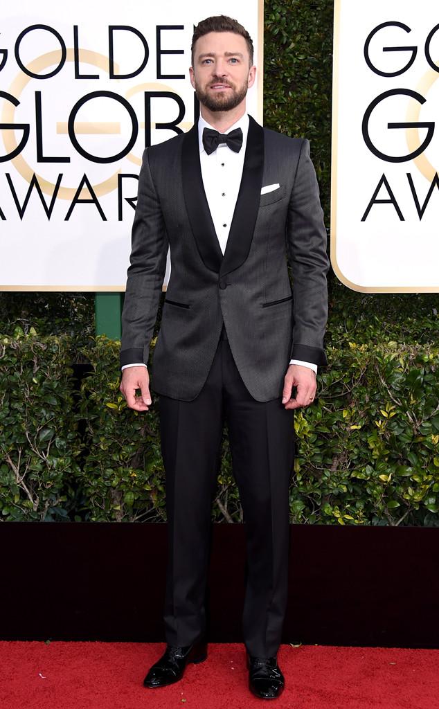 Justin Timberlake, 2017 Golden Globes, Arrivals
