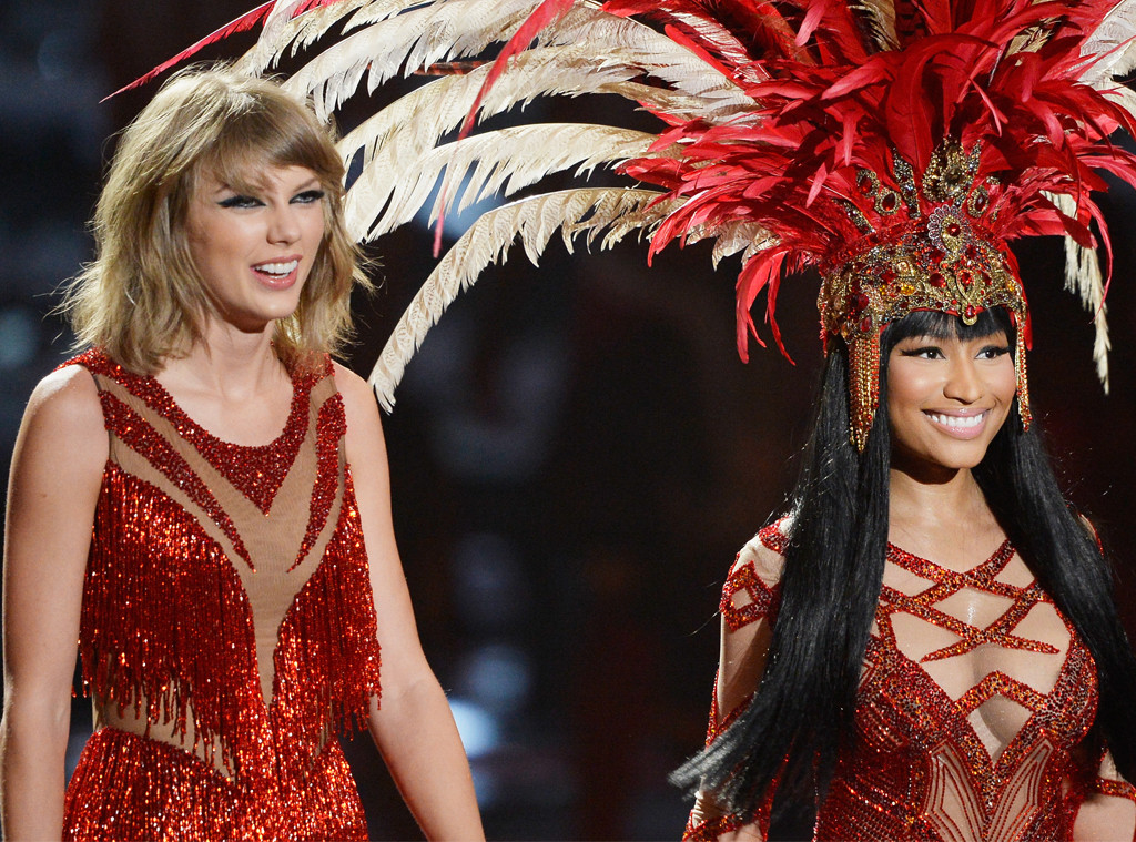 Taylor Swift, Nicki Minaj, 2015 MTV Video Music Awards, VMA