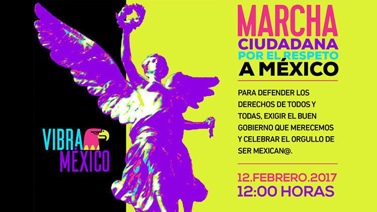 La gran marcha que iba a unir a los mexicanos contra Trump, dividida ahora por Peña Nieto