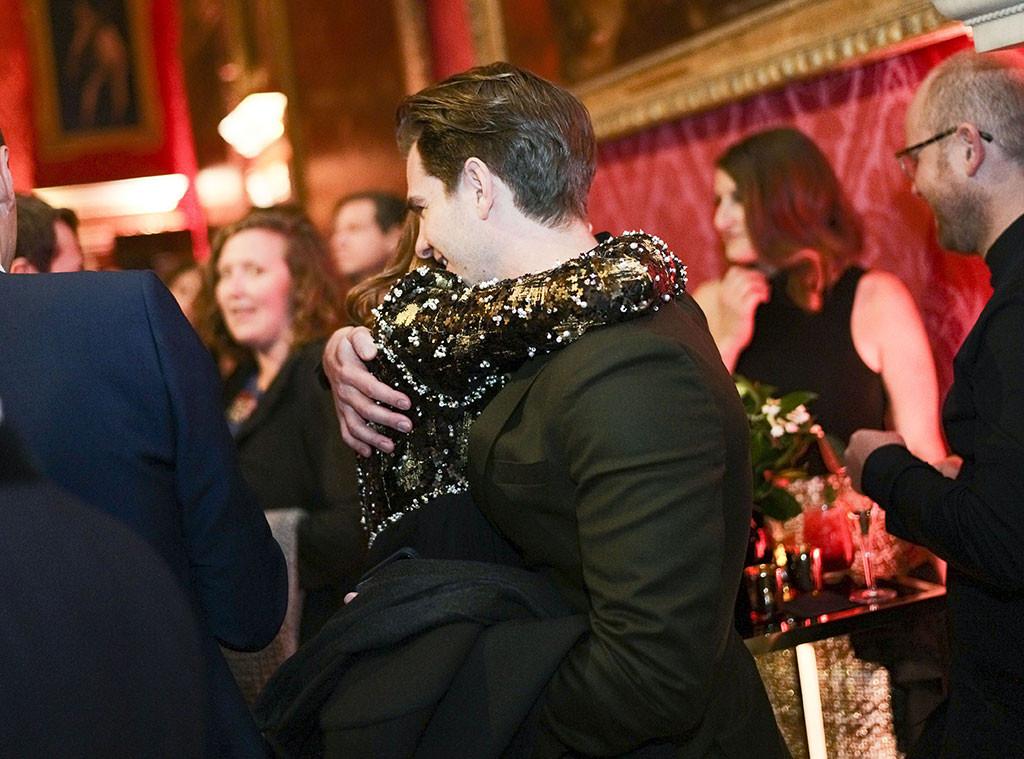 Andrew Garfield, Emma Stone, BAFTA, Nespresso Nominees Party
