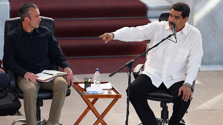 Maduro enviará carta de protesta a EE.UU. por sanciones contra el vicepresidente El Aissami