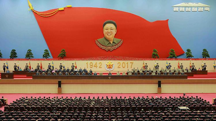 Corea del Norte celebra el 75.° aniversario del nacimiento de Kim Jong-Il (video, fotos)