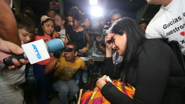 Ximena Suárez estuvo más de 20 días internada
