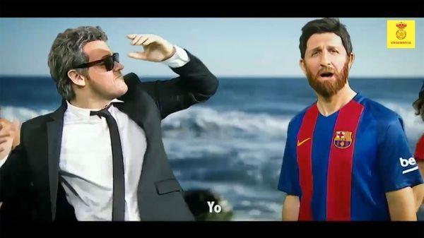 Crackovia se burló del Barcelona con una canción de Daddy Yankee y Luis Fonsi