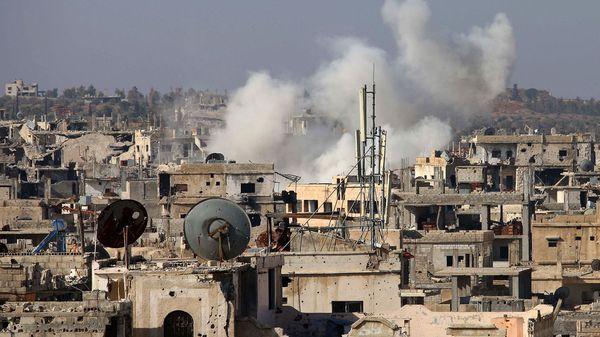 Combates en Siria (AFP)